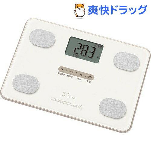 タニタ 体組成計 Fit Scan ナチュラルホワイト FS-102-WH(1台)【タニタ(TANITA)】