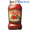 ベルトリー トマト&バジル(680g)【ベルトリー】[パスタソース]
