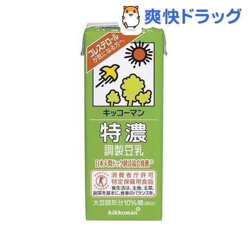 キッコーマン 特濃調製豆乳(200mL*18本入)
