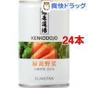 健康道場 緑黄野菜(160g*24コセット)【健康道場】[野菜ジュース]【送料無料】