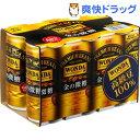 ワンダ 金の微糖(185g*6本入)【ワンダ(WONDA)】