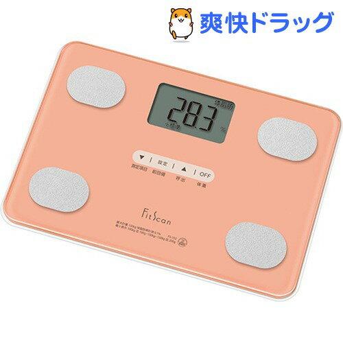 タニタ 体組成計 Fit Scan コーラルピンク FS-102-PK(1台)【タニタ(TANITA)】【送料無料】