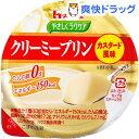 やさしくラクケア クリーミープリン たん白質0g カスタード風味(63g)【やさしくラクケ