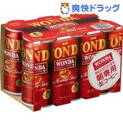 ワンダ モーニングショット(185g*6本入)【ワンダ(WONDA)】