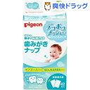 ピジョン 歯みがきナップ(42包入)【親子で乳歯ケア】[ピジョ...