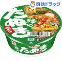 マルちゃん 緑のまめたぬき天そば(ミニカップ) (1コ入)