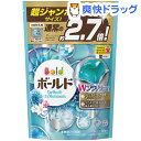 ボールド ジェルボールWプラチナ プラチナホワイトリーフの香り 詰替用 超ジャンボ(940g)【ボールド】