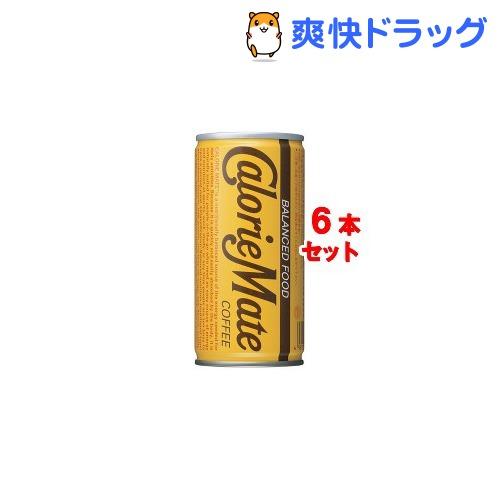 カロリーメイト 缶 コーヒー味(200mL*6本入)【カロリーメイト】[カロリーメイト 缶…...:soukai:10039290