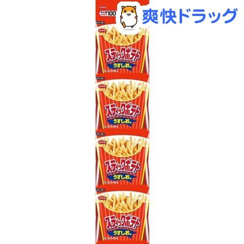 湖池屋 4連スティックポテト うすしお味(13g*4袋入)【湖池屋(コイケヤ)】