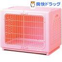 ペッツルート ワンルーム ステンレス ピンク Lサイズ(1コ入)【送料無料】