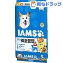 アイムス 成犬用 体重管理用 チキン 中粒(5kg)【IAMS1120_wc_chkn02】【アイムス】[【iamsd121609】]【送料無料】
