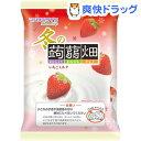 冬の蒟蒻畑 いちごミルク(25g*10コ入)【蒟蒻畑】