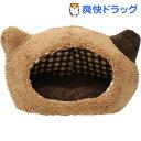 ぬくふかハウス 猫型 Mサイズ ブラウン/ブラウンチェック(1コ入)【送料無料】
