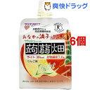 【訳あり】クラッシュタイプの蒟蒻畑ライト りんご味(150g*6コセット)【蒟蒻畑】[こんにゃく ゼリー ダイエット食品]