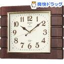 セイコー 電波掛時計 RX209B(1台)【セイコー】【送料無料】