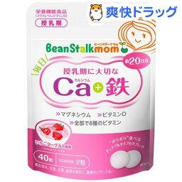 ビーンスタークマム 毎日カルシウム&鉄(40粒)【ビーンスタークマム】[ベビー用品]