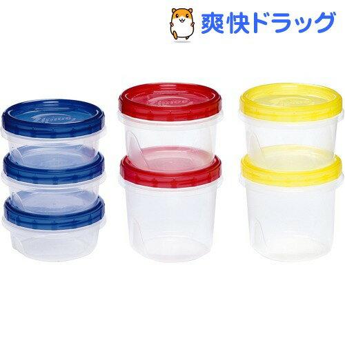ジップロック スクリューロック カラーアソート 7コ入(1セット)【soukai_0912】【Ziploc(ジップロック)】[キッチン用品]