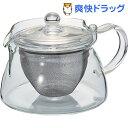 ハリオ 茶茶急須 角 450mL CHJKN-45T(1コ入)【ハリオ(HARIO)】[キッチン用品]