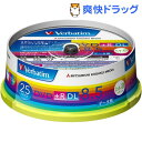 バーベイタム DVD+R DL 8.5GB PCデータ用 8倍速対応 25枚 DTR85HP25V1(1セット)【バーベイタム】【送料無料】