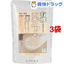 コジマフーズ 有機 玄米クリーム(200g*3コセット)