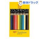 トンボ鉛筆 紙箱入色鉛筆NA 12色セット CQ-NA12C(1セット)