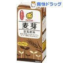 【訳あり】マルサン 豆乳飲料 麦芽(1L*6本入)