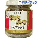 ムソー食品工業 鉄火みそ 八丁味噌 ビン入り(80g)