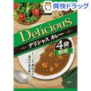 ハチ食品 デリシャスカレー 中辛(170g*4袋入)