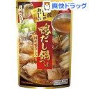 キッコーマン 贅沢だしがおいしい 鴨だし鍋つゆ(750g)