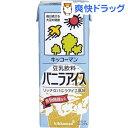 キッコーマン 豆乳飲料 バニラアイス(200mL*18本入)