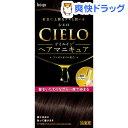 シエロ オイルインヘアマニキュア ダークブラウン(100g+3g+10g)【シエロ(CIELO)】