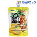 ぷるんと蒟蒻ゼリー スタンディング パイナップル(130g)【ぷるんと蒟蒻ゼリー】
