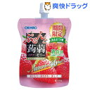 ぷるんと蒟蒻ゼリー スリムカット イチゴ(130g*8コ入)【ぷるんと蒟蒻ゼリー】