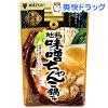 ミツカン 〆まで美味しい 地鶏味噌ちゃんこ鍋つゆ ストレート(750g)