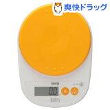 タニタ デジタルクッキングスケール アプリコットオレンジ KD-189-OR(1台)【HLSDU】 /【タニタ(TANITA)】[キッチンスケール]