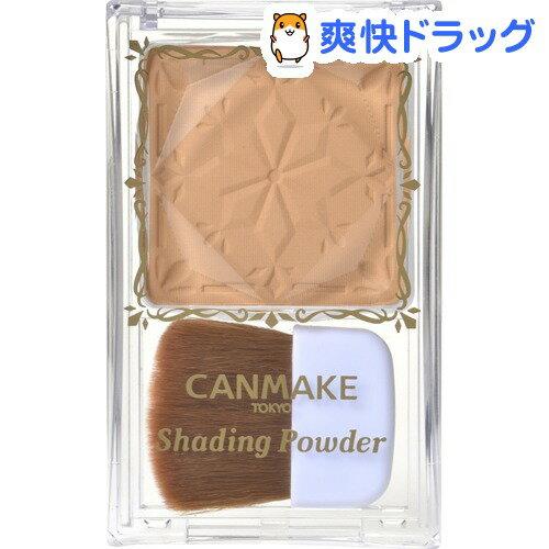 canmake井田巧克力立体轮廓小脸修容粉#03