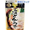 ミツカン 〆まで美味しい 和風だしとんこつ鍋つゆ ストレート(750g)