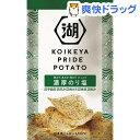 【訳あり】湖池屋 KOIKEYA PRIDE POTATO 濃厚のり塩(63g)【湖池屋(コイケヤ)】
