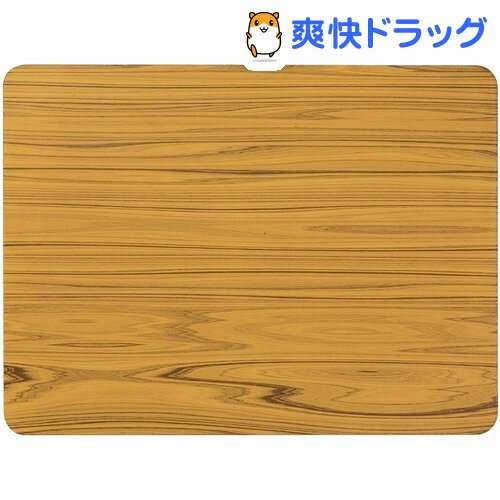 ハチ クールアルミプレート 木調 M(1枚入)【ハチ(hachi)】