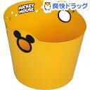 ミッキーマウス やわらかバケツ 丸 イエロー R36(1コ入)