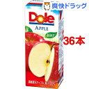 【訳あり】ドール アップル100%ジュース(200mL*36本入)【送料無料】