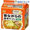 マルちゃん 昔ながらのみそラーメン(5食入)