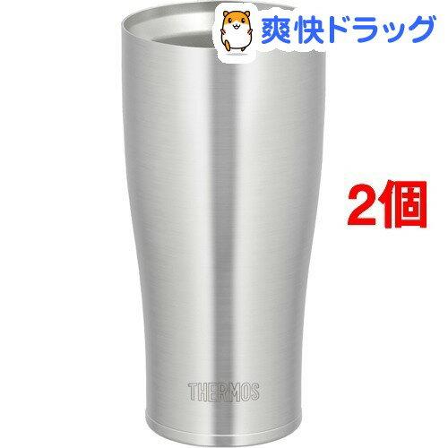 サーモス 真空断熱タンブラー JDE-420 S(2コセット)【サーモス(THERMOS)】【送料無料】