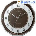 リズム スリーウエイブM846 茶メタリック 4MY846SR06(1台)【送料無料】