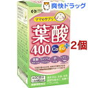 葉酸400 Ca・Feプラス(120粒*2コセット)【井藤漢...