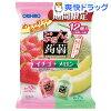 ぷるんと蒟蒻ゼリー パウチ イチゴ+メロン(20g*12コ入)