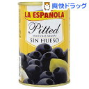 【訳あり】ラ・エスパニョーラ ブラック オリーブス(300g)[缶詰]