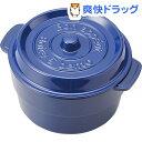 ココポット ラウンド ブルー T-56444(1コ入)【送料無料】