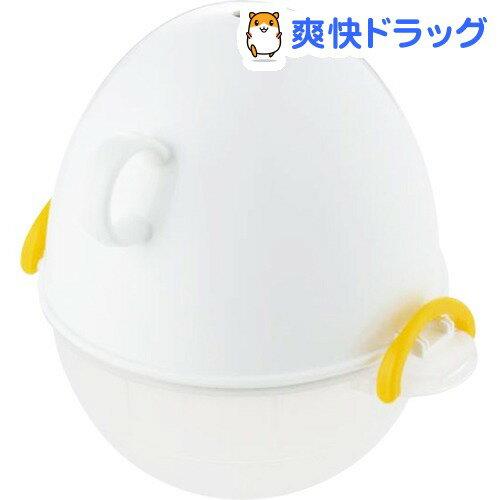 イージーエッグ レンジでゆでたまご 3コ用 ホワイト(1コ入)【イージーエッグ(ezegg)】