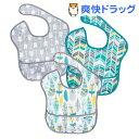 バンキンス スーパービブ USA発食事用防水ビブ 6〜24ヶ月 N16(3枚入)